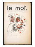 Front Cover of &#39;Le Mot&#39;  6th March 1915