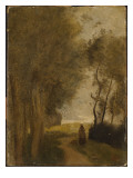 Road at Lisiere De Bois  C1860-65