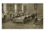 Signing the Treaty of London  1913