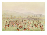 The Indian Ball Game  C1832