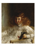 Portrait of Leroy King as a Young Boy  1888