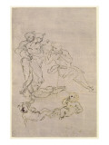 Figural Study for the Adoration of the Magi