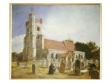 The Old Church  Ewell  1847