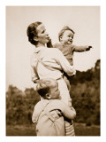 A National Socialist Ideal; a Happy Mother