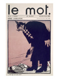 Front Cover of &#39;Le Mot&#39;  9th January 1915