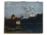 The Chateau De Chillon  1877