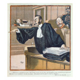 A Lawyer Addressing the Jury  1900