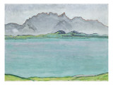 The Stockhorn Mountains and Lake Thun  1911