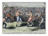 John Heenan V Tom Sayers  17th April  1860