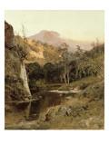Mount Tamalpais from Lagunitas Creek  1878