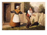 The Drunken Husband  C1818