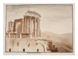 The Temple of the Tiburtine Sibyl  1833