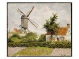 Windmill at Knokke  Belgium  1894