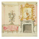 Proposal for a Drawing Room Interior  1755-60
