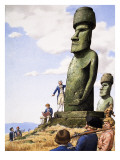 What Really Happened Idols of Easter Island