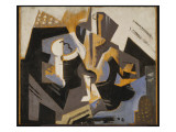 Cubist Still Life in Blue and Grey  C1917