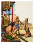 A Slave Is Brought before the Pharaoh
