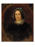 Portrait of Mrs William Evamy  C1843