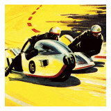 Motor-Cycle Side-Car Racing