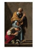 St Peter Baptising the Centurion Cornelius