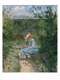 Jeanne in the Garden  Pontoise  C1872