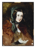 A Portrait Study of Lady Harriet Hamilton