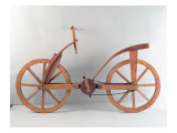 Reconstruction of Da Vinci&#39;s Design for a Bicycle