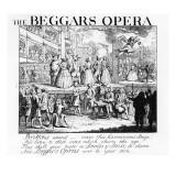 The Beggar's Opera Burlesqued  1728
