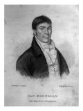 Dan Donnelly  Engraved by Percy Roberts