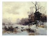 Crows in a Winter Landscape  1907