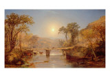 Indian Summer on the Delaware River  1882