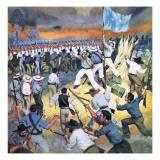 The Defence of the Eureka Stockade