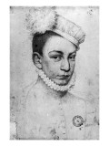 Portrait of King Charles Ix of France  1561
