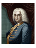 George Frederic Handel  Engraved by Thomson