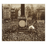 New Year's Eve  Trafalgar Square  1919