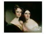 Portrait of Ellen and Mary Mcilvaine  1834