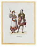 A Collection of Fancy Dress Costumes  1827