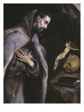 St Francis Meditating  C1586-92