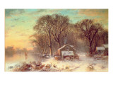 Winter in Malden  Massachusetts  1864