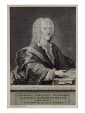 Portrait of Georg Philipp Telemann