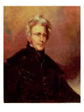 Portrait of Andrew Jackson  1858