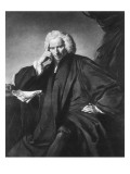 Laurence Sterne  Engraved by Edward Fisher