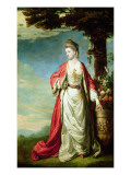 Portrait of Mrs Trecothick  in Turkish Dress