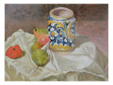 Still Life with Italian Earthenware Jar