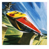 Artist&#39;s Conception of a Glider Train