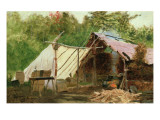 Camp in the Maine Wood  No3  1879