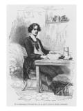 Lucien De Rubempre Writing a Letter