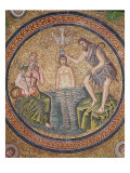 Baptism of Christ by John the Baptist