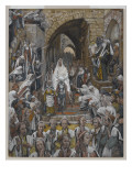 The Procession in the Streets of Jerusalem