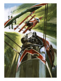 The Fokker Dr 1 -- the Red Baron